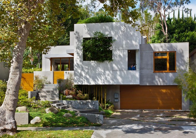 Front Elevation - contemporary - exterior - los angeles - by ...