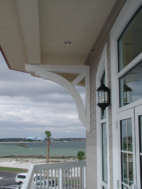 Large builder brackets traditional exterior other for Large exterior corbels
