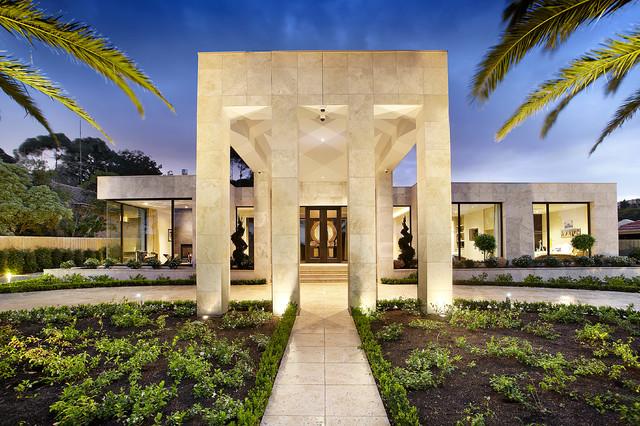LARGE CONTEMPORARY FAMILY HOME - Contemporary - Exterior - Melbourne ...