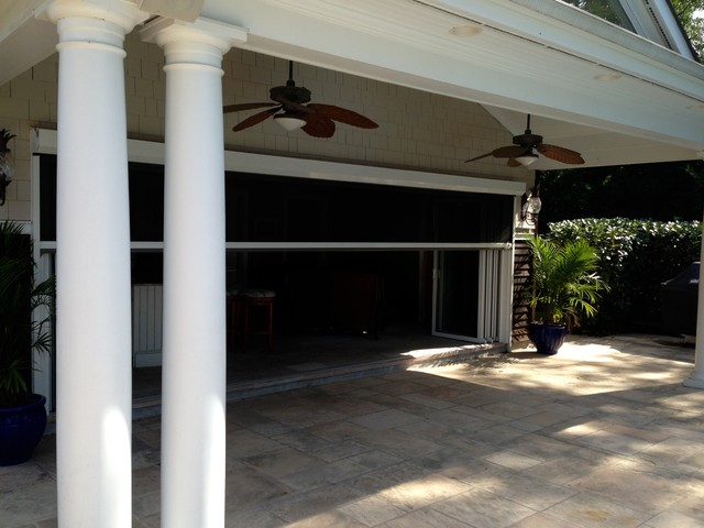 Large folding door systems traditional patio new for Large folding patio doors