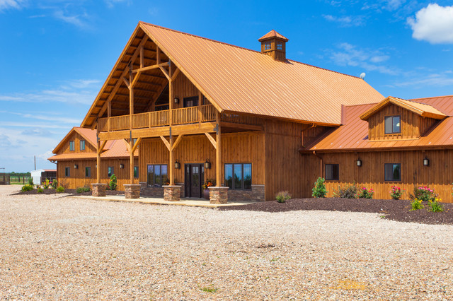 Large Horse Barn Traditional Exterior Other By