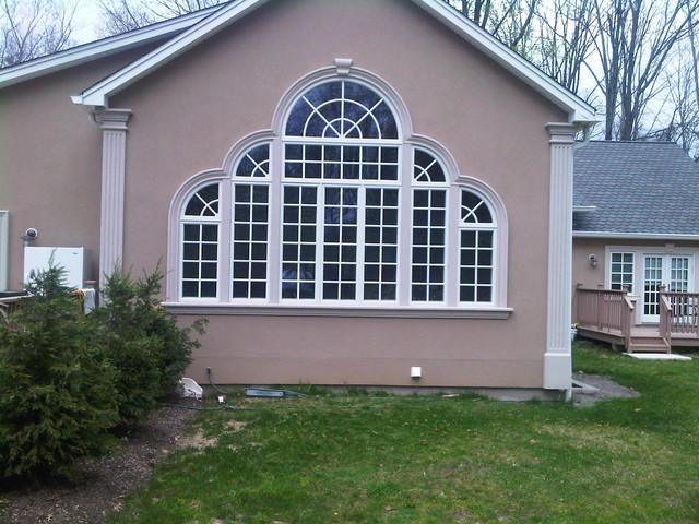 Large palladian windows for Palladian home designs