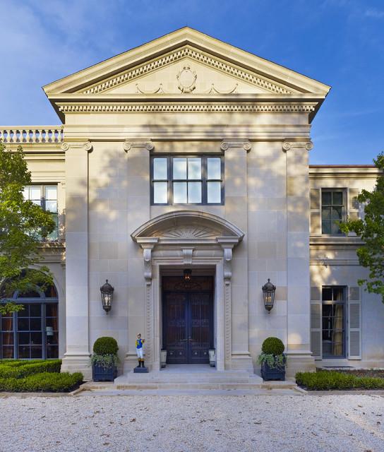 Larry e boerder architects oaks residence traditional for Exterior design institute