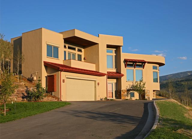 Las vistas enclave modern santa fe style singlertree for Santa fe style homes