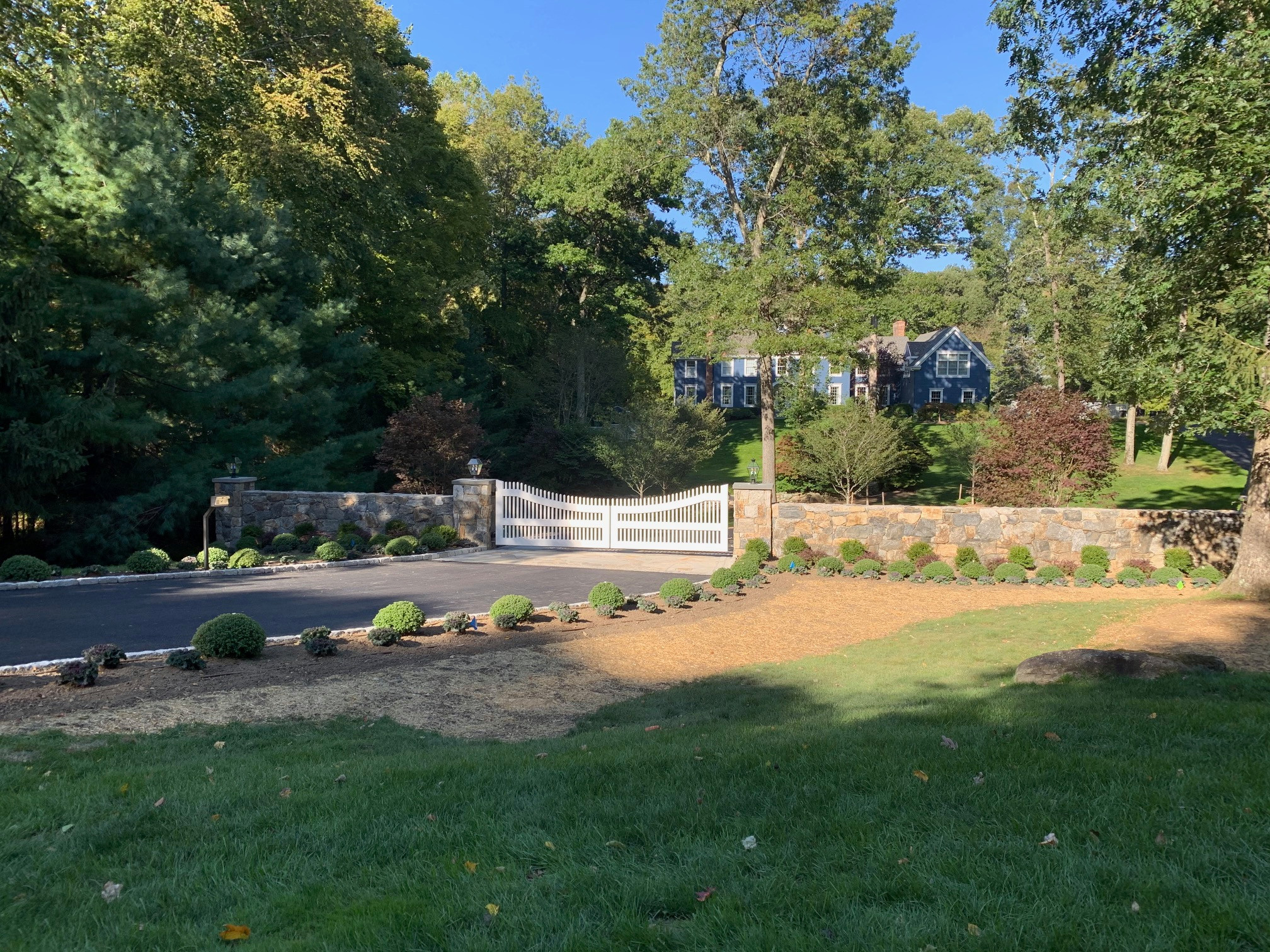 Last Day at Private Home in Pound Ridge - 2 years design/build