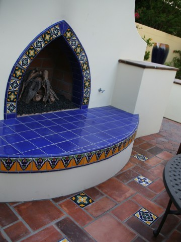 Latin Fireplaces Mediterranean Exterior Los Angeles By Latin