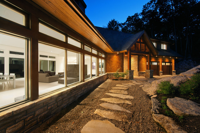 Laurentian Hills contemporary-exterior