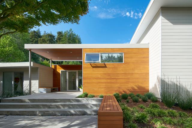 Laverne As Shirley House Modern Exterior San