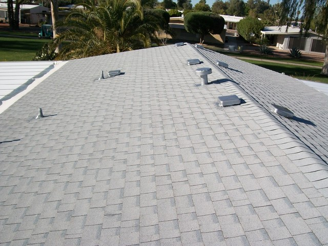 Lawrence Residential Roofing traditional-exterior