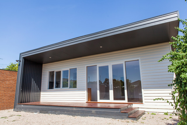 Tremendous Lean To House Contemporary Exterior Melbourne By Home Interior And Landscaping Transignezvosmurscom