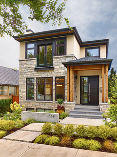 Lee residence transitional exterior vancouver by for Exterior design vancouver wa