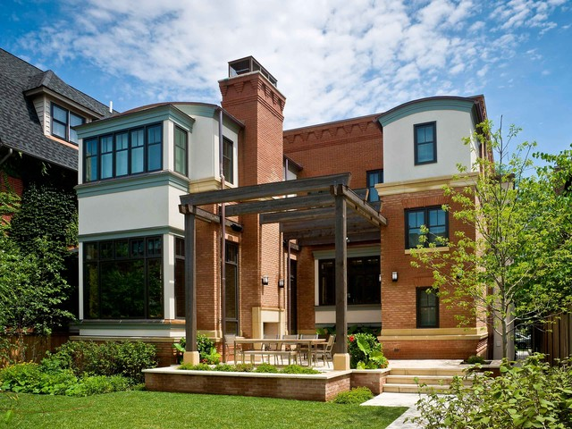 Leed Certified Home In The City Traditional Exterior