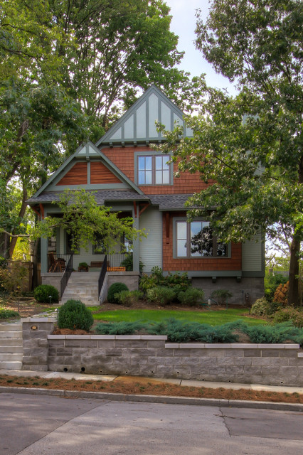 Leed platinum certified residence craftsman exterior for Leed certified house plans