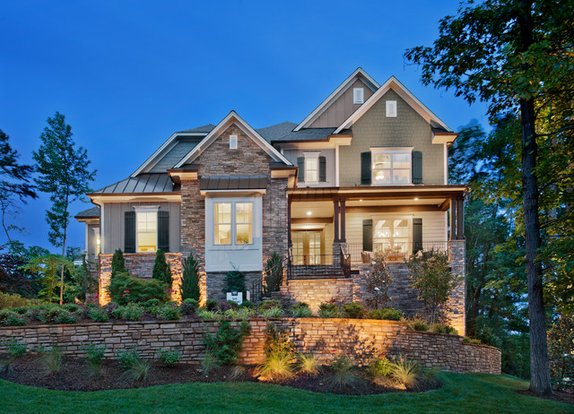 Leesville Crest by Ashton Woods traditional-exterior