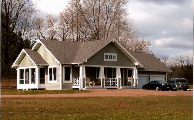 Len'as Cottage craftsman-exterior