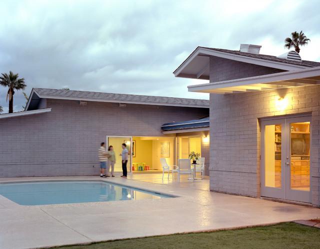 Lerner House contemporary-exterior