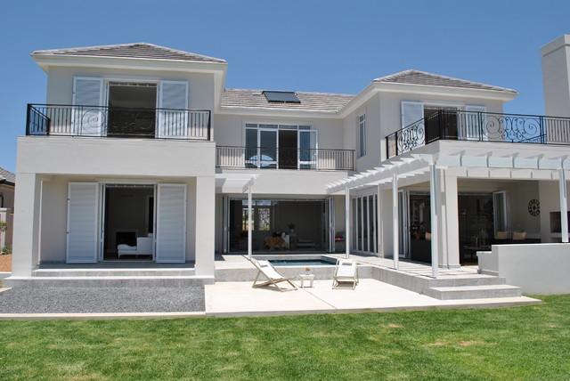 Les Lions Street, Val de Vie Estate, South Africa traditional-exterior
