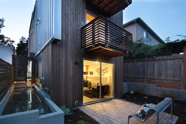modern exterior by First Lamp