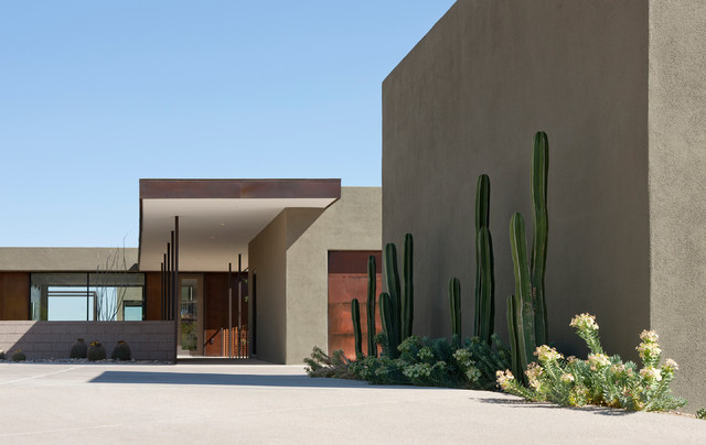 Levin Residence Modern Exterior Phoenix By Ibarra