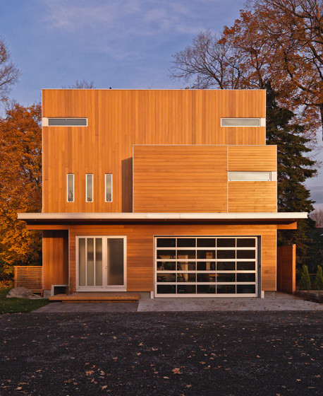 Lighthouse contemporary exterior ottawa by linebox for Modern house design ottawa