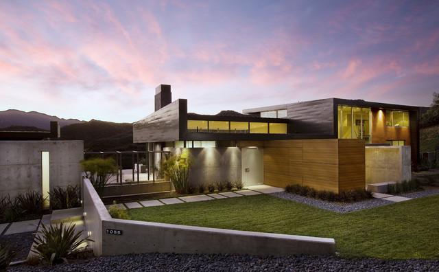 Abramson Teiger Lima Residence modern-exterior