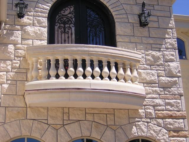 Exterior: Limestone Alternative Trim & Limestone Architecture