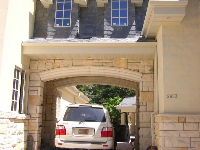 Limestone Alternative Trim & Limestone Architecture traditional-exterior