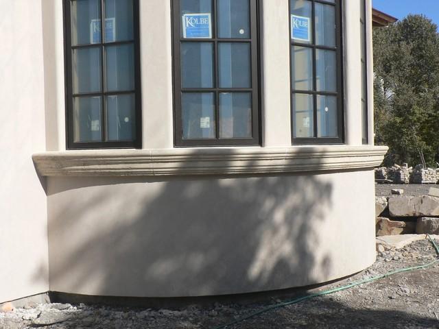 Limestone Radius Window Sill