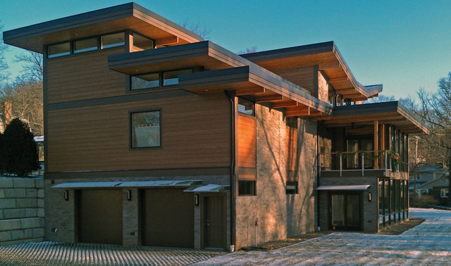 Lindal Modern Home In Pittsburgh Pa Contemporary