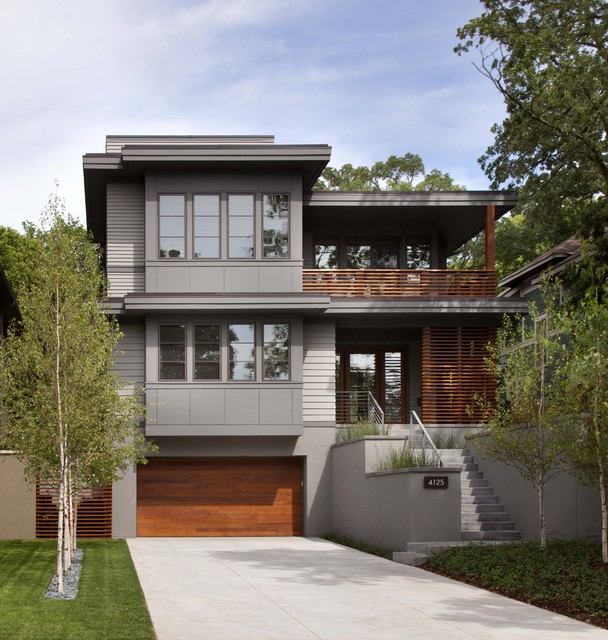 Linden Hills Contemporary contemporary-exterior