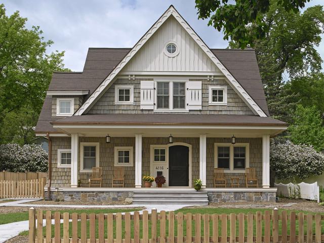 Linden Hills Cottage traditional-exterior