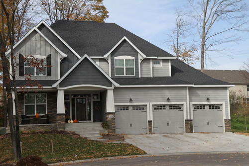 What Is The Color Of The Light Gray Siding And Trim