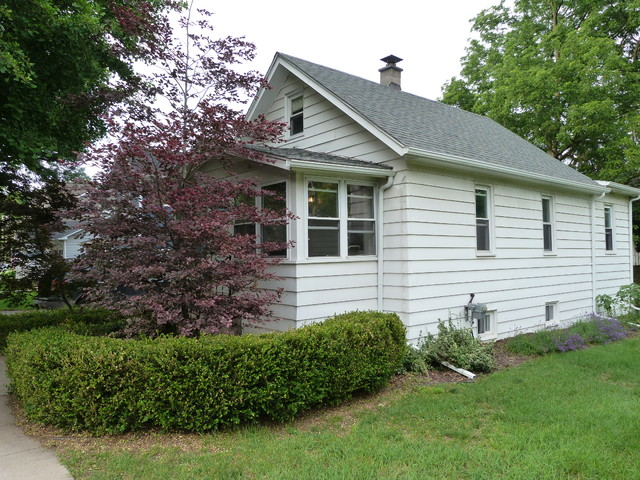 Linden Small Cottage Renovation Traditional Exterior