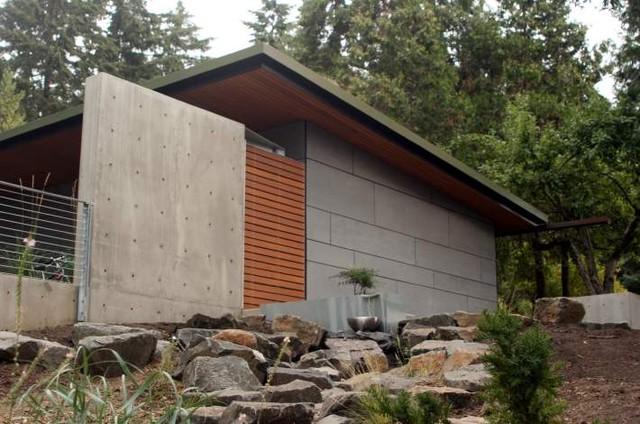 Little Creek Residence modern-exterior