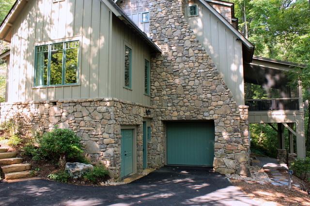 Living Stone Construction : Living Stone Construction, Inc - Traditional - Exterior ...