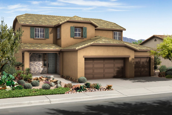 LivingSmart Homes at Providence contemporary-exterior