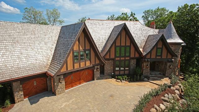 Locust Hills Tudor traditional-exterior
