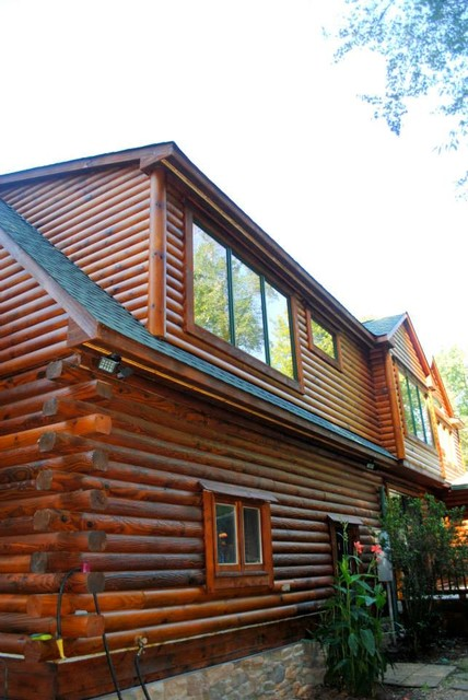 Log Cabin Addition And Remodel