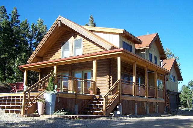 Log cabin remodel addition for Log cabin additions ideas