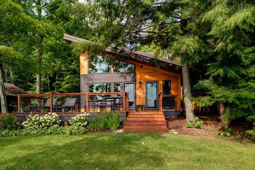 ไอเดียบ้านชั้นครึ่ง 01 Log Cabin