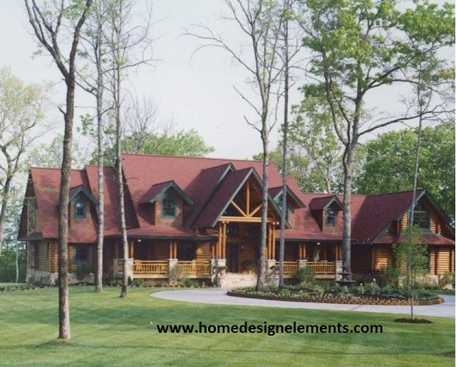 log home barna traditional exterior other by