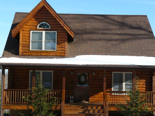 Log Home And Deck Finishes