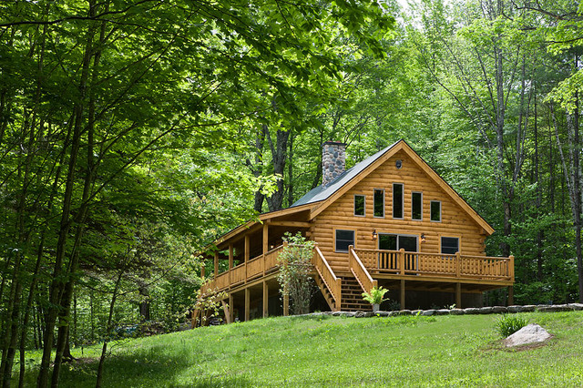 Log Homes Cabins Coventry Log Homes The Ascutney