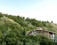 Logan Canyon House contemporary-exterior