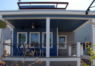 Logan Square Prefab Addition - Modern - Exterior - chicago - by Square ...