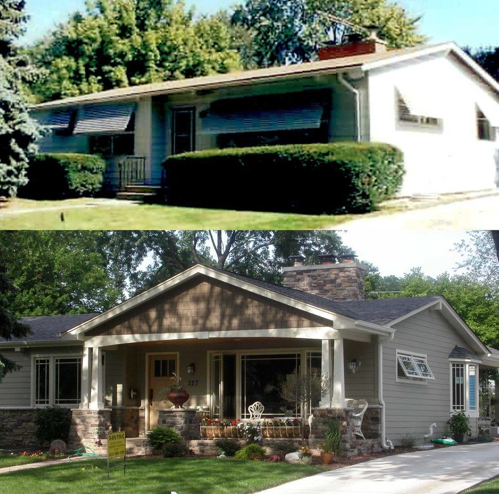 Lombard Illinois Traditional Exterior Chicago By