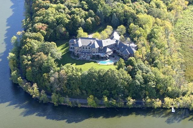Long Lake Estate traditional-exterior