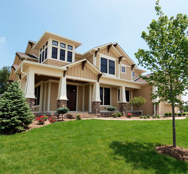 Long Ridge West House craftsman-exterior