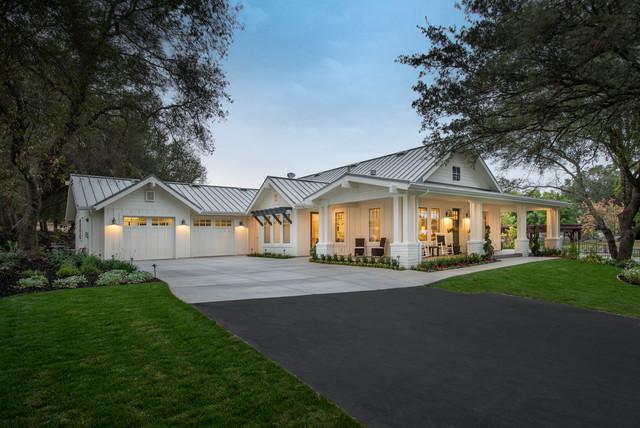 Loomis Cottage Farmhouse Exterior Sacramento By