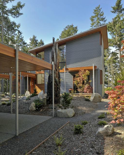 Lopez Island Residence contemporary-exterior